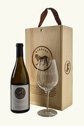 RARECAT Gift: Chardonnay + Glass